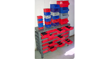 Steel Stackable Bins